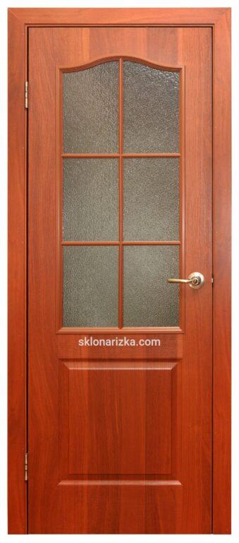 Виготовлення шаблону для дверей з хвилеподібною стороною вверху
