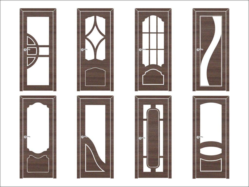 Двері з яких потрібно зняти шаблони