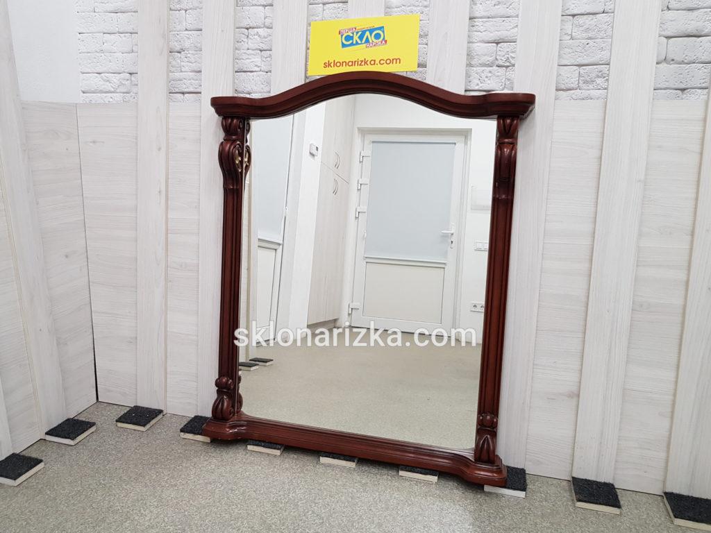 Дзеркало фігурне вирізане у дерев_яну раму_