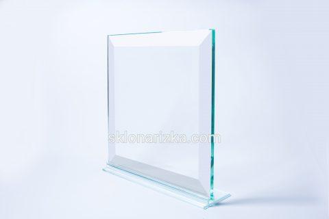 Фацет на товстому склі