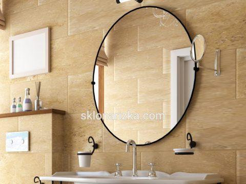Класичне кругле дзеркало