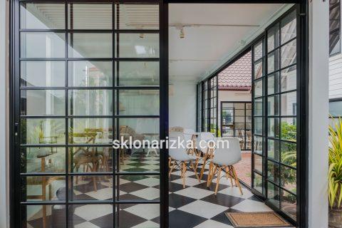 Прозоре віконне скло у міжкімнатні перегородки