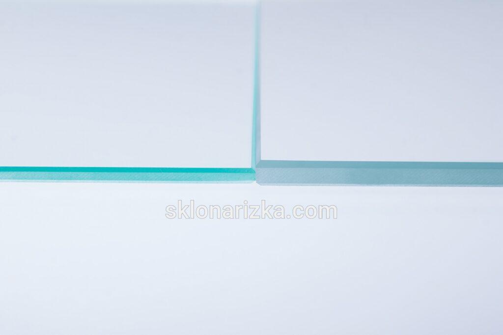 Шліфування торців (крайок) на віконному та ультрапрозорому склі_