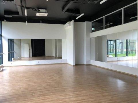 Монтаж великих дзеркал у Танцювальному залі