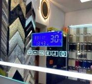 Дзеркала з сенсором та LED-підсвіткою з bluetooth, FM-радіо і підігрівом (220V)
